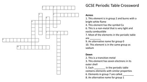 periodic table basics answer key pdf