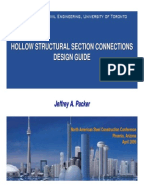hollow structural sections connections manual pdf