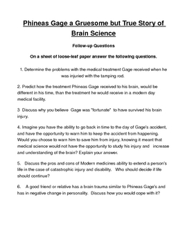 phineas gage book pdf free