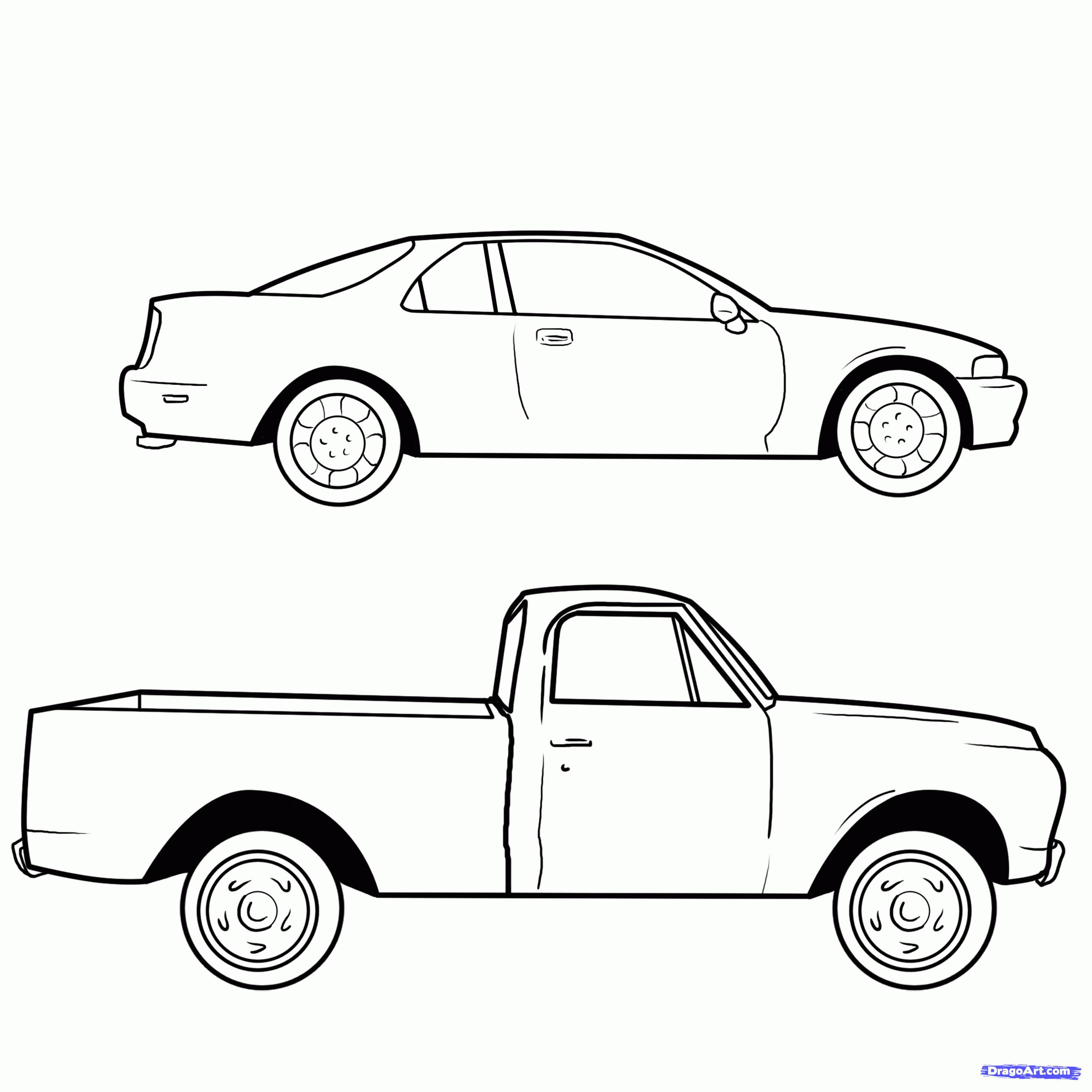 how to draw cars pdf free download