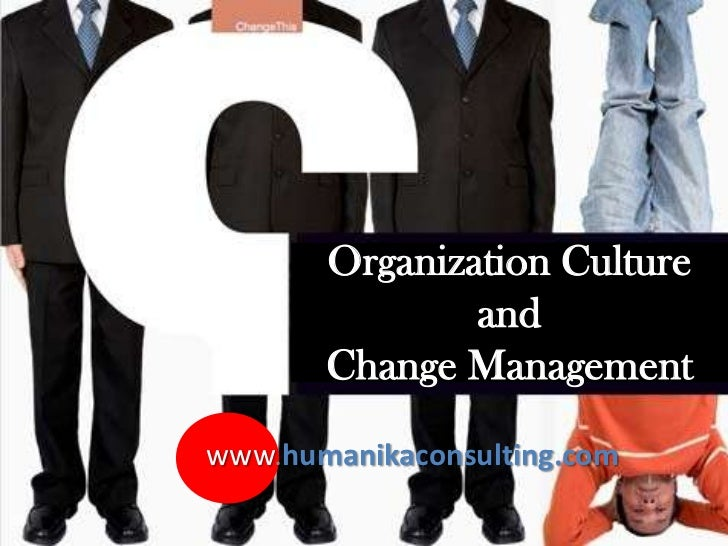organizational culture and management pdf