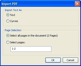 open pdf in corel photo-paint