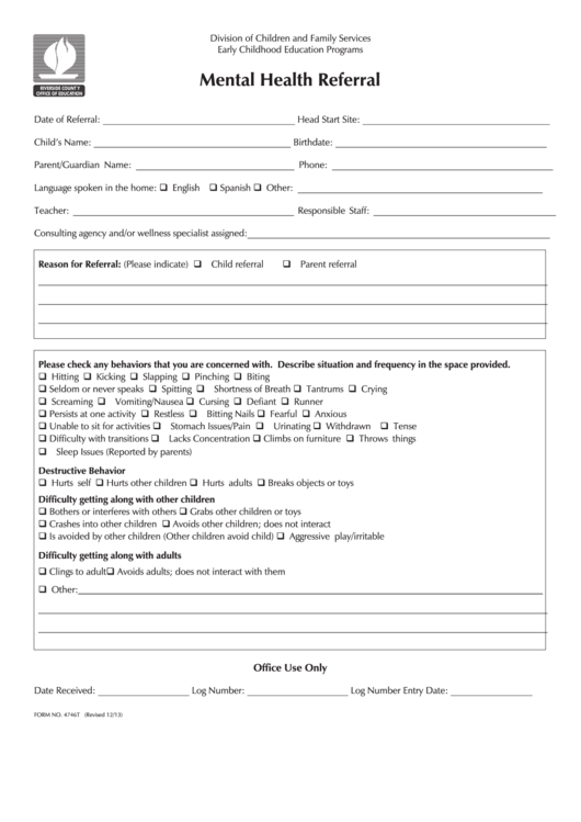child development service referral form pdf
