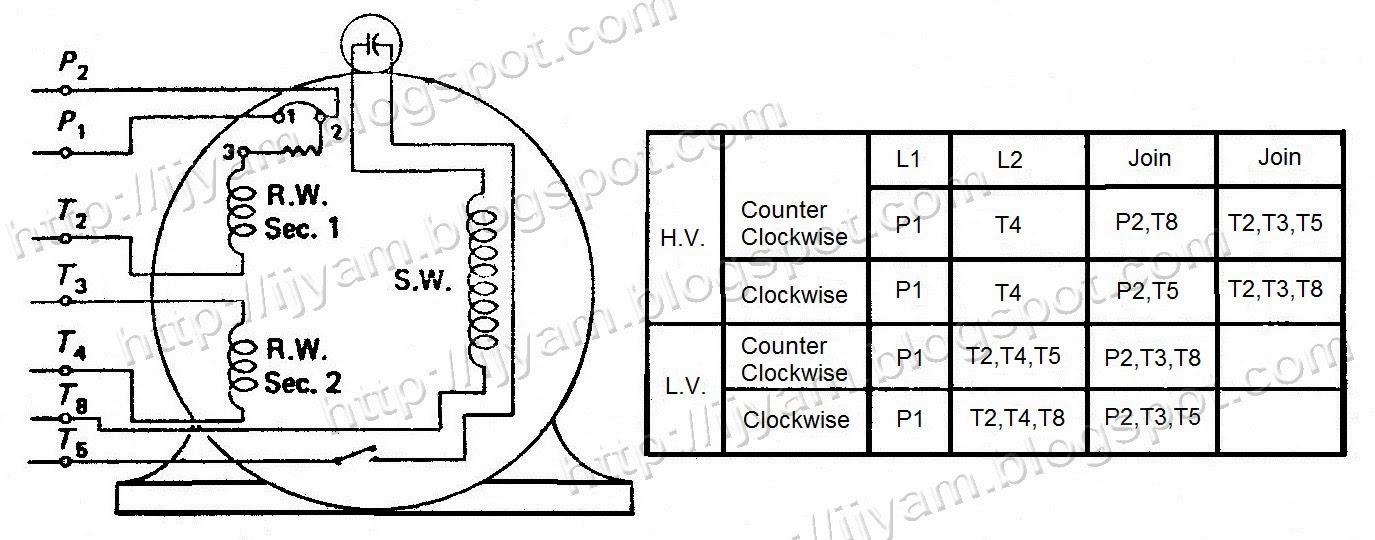 single phase motor wiring diagram with capacitor start pdf