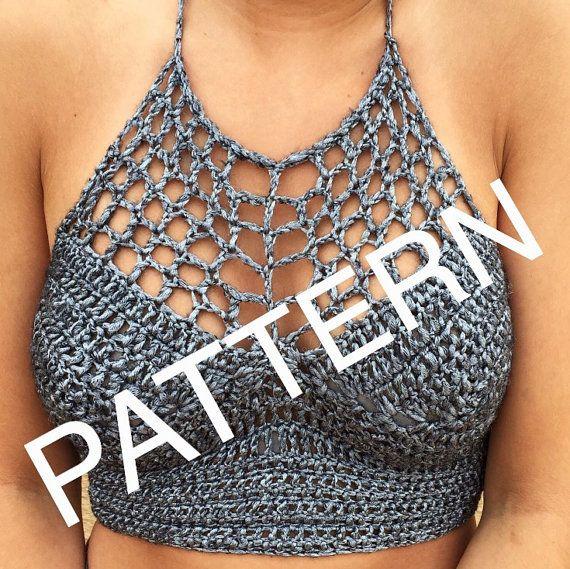crochet crop top pattern pdf