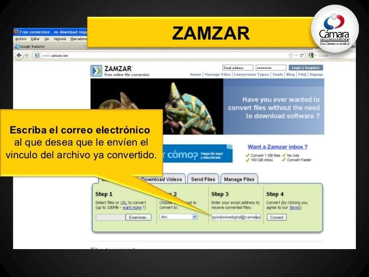 zamzar online pdf to word converter