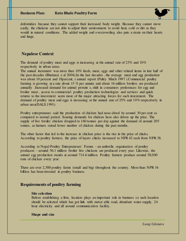 egg production business plan pdf