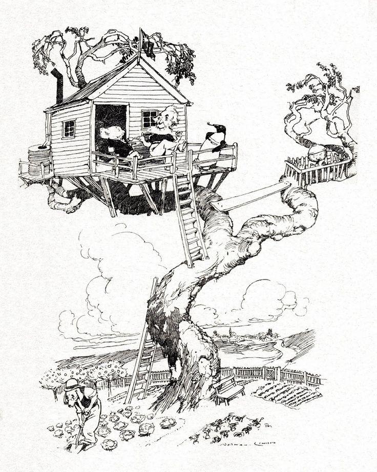 the magic pudding illustrations pdf