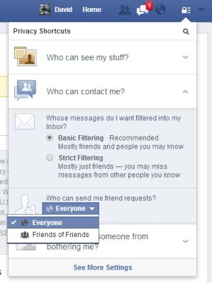 facebook security settings guide pdf
