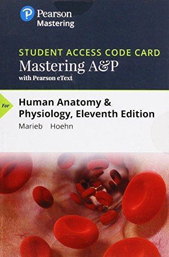 marieb anatomy and physiology 11th edition pdf