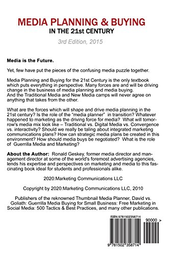 media planning and buying in the 21st century pdf