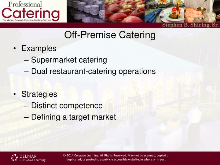 off premise catering management pdf