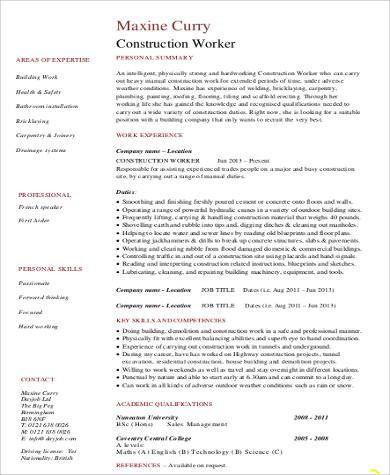 site supervisor job description australia pdf